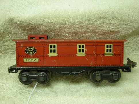 1682 Caboose Type 5