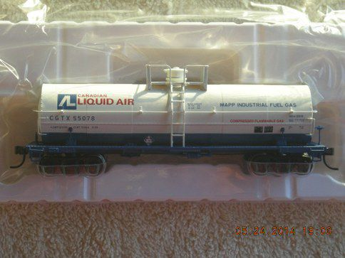 20002644 Canadian Liquid Air 11,000 Gallon Tankcar