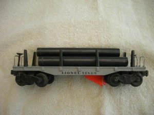 2411 Big Inch Flatcar With Pipes Type 1