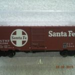45415 Santa Fe Single Door Boxcar