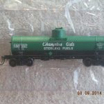 46329 Champion Oils 8,000 Gal. Tank Car
