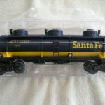 47105 Santa Fe Three Dome Tank Car