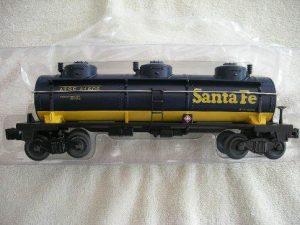 47105 Santa Fe Three Dome Tank Car