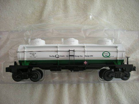 47107 Quaker State Three Dome Tank Car