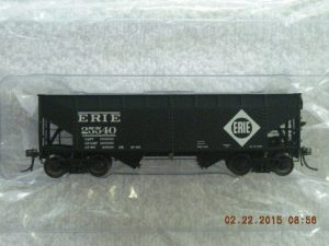 47173 Erie 2 Bay Hopper Car