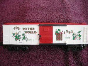 48319 1993 Christmas Boxcar