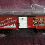 48374 2008 American Flyer Holiday Boxcar