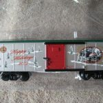 48376 2009 American Flyer Holiday Boxcar