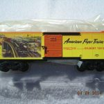 48381 American Flyer 1953 Catalog Art Boxcar