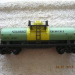 48407 Gilbert Chemicals Tank Car