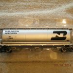 48640 Burlington Northern Cylindrical 3 Bay Hopper Car