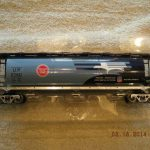 48641 Missouri Pacific Cylindrical 3 Bay Hopper Car