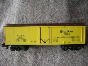 48807 Nickel Plate Road Refrigerator Car