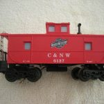 6137 C&NW Center Capola Caboose