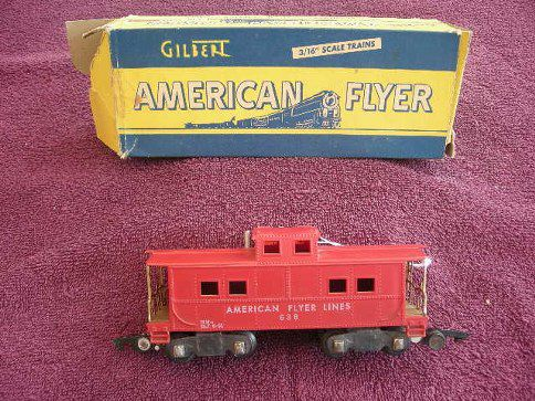 638 American Flyer Lines Caboose