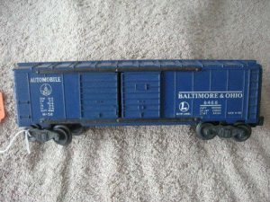 6468 B&O Double Door Boxcar Type 1