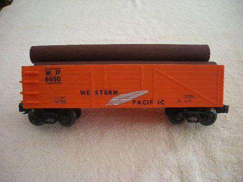 653-2171 Western Pacific Gondola w/Logs