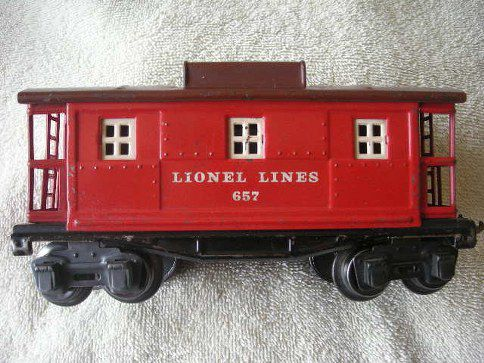 657 Lionel Lines Caboose Type 5