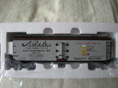 742-8016 Nash Mustard Wood-Sided Reefer