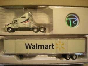 13685 Kenworth Tractor With Wal-Mart Trailer