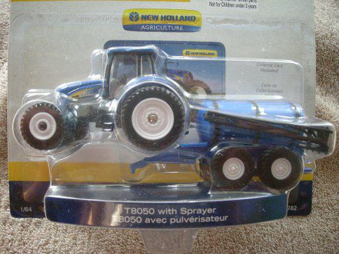 13782 New Holland Tractor With Sprayer