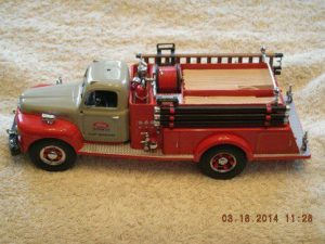 19-3980 1951 Ford Plant Protection Pumper Truck