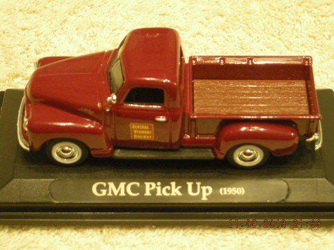 1950CV 1950 GMC Central Vermont Railroad Pickup Truck