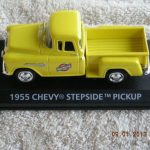 1955CNW 1955 Chevrolet Chicago & Northwestern Railroad Pickup Truck