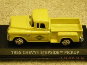 1955IC 1955 Chevrolet Illinois Central Railroad Pickup Truck