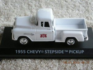 1955ROCK 1955 Chevrolet Rock Island Railroad Pickup Truck