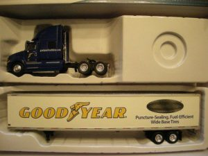 2301342 International Tractor With Goodyear Trailer