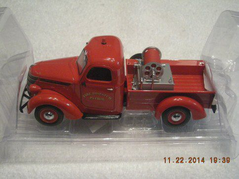 40-0338 International Fire Patrol Dispatch D2 Brush Truck