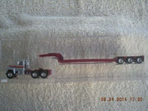 60-0268 Mack R Model Tractor With Lowboy Trailer
