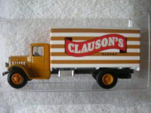 6402 Clauson's Bakery Box Van