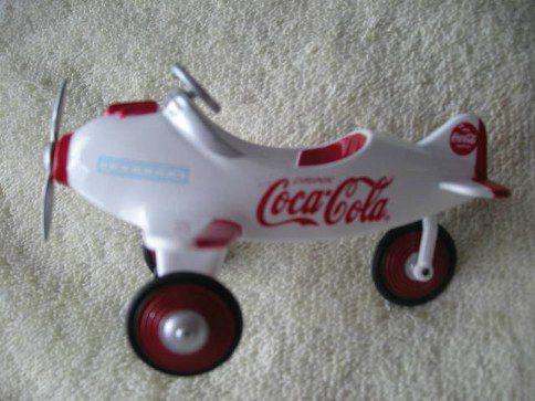 94506 Coca Cola Pedal Plane