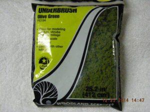 FC134 Olive Green Underbrush