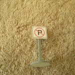 010 No Parking Road Sign