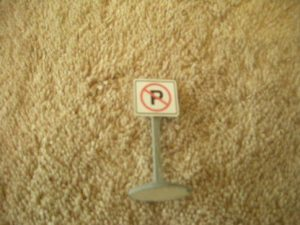 010 No Parking Road Sign