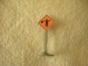 029 Flagman Road Sign
