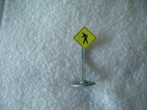 042 Man Walking Road Sign