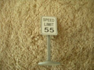 068 Speed Limit 55 Road Sign