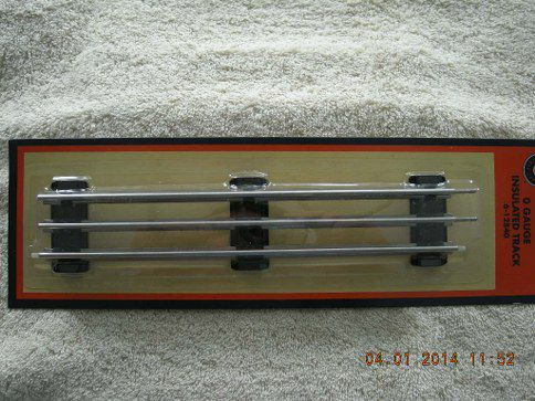 12840 O Gauge Insulated Track