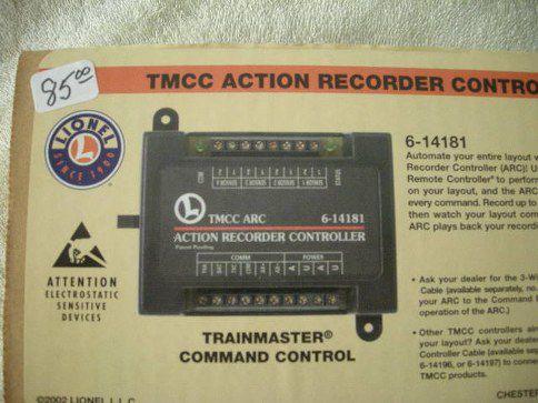 14181 TMCC Action Recorder Controller