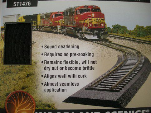 1476 O Scale Track Bed