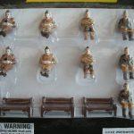 21435 World War II Seated Figures