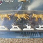 24252 Polar Express Wolves and Rabbits Animal Pack