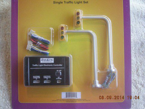 30-1089-1 Signle Traffic Light Set