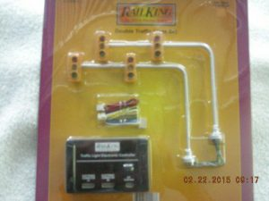 30-1089-2 Double Traffic Light Set
