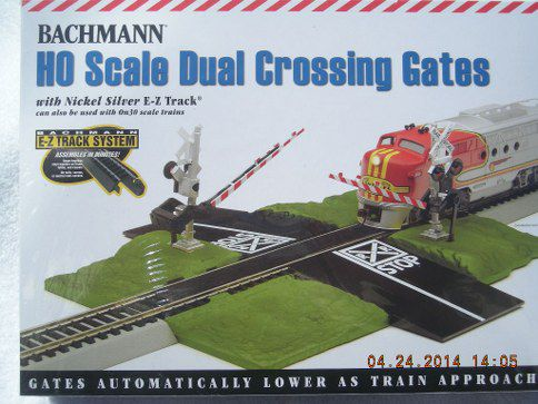 44579 EZ Track Dual Crossing Gates