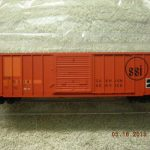 20001539 Atlantic & Western FMC 5077 SD box car